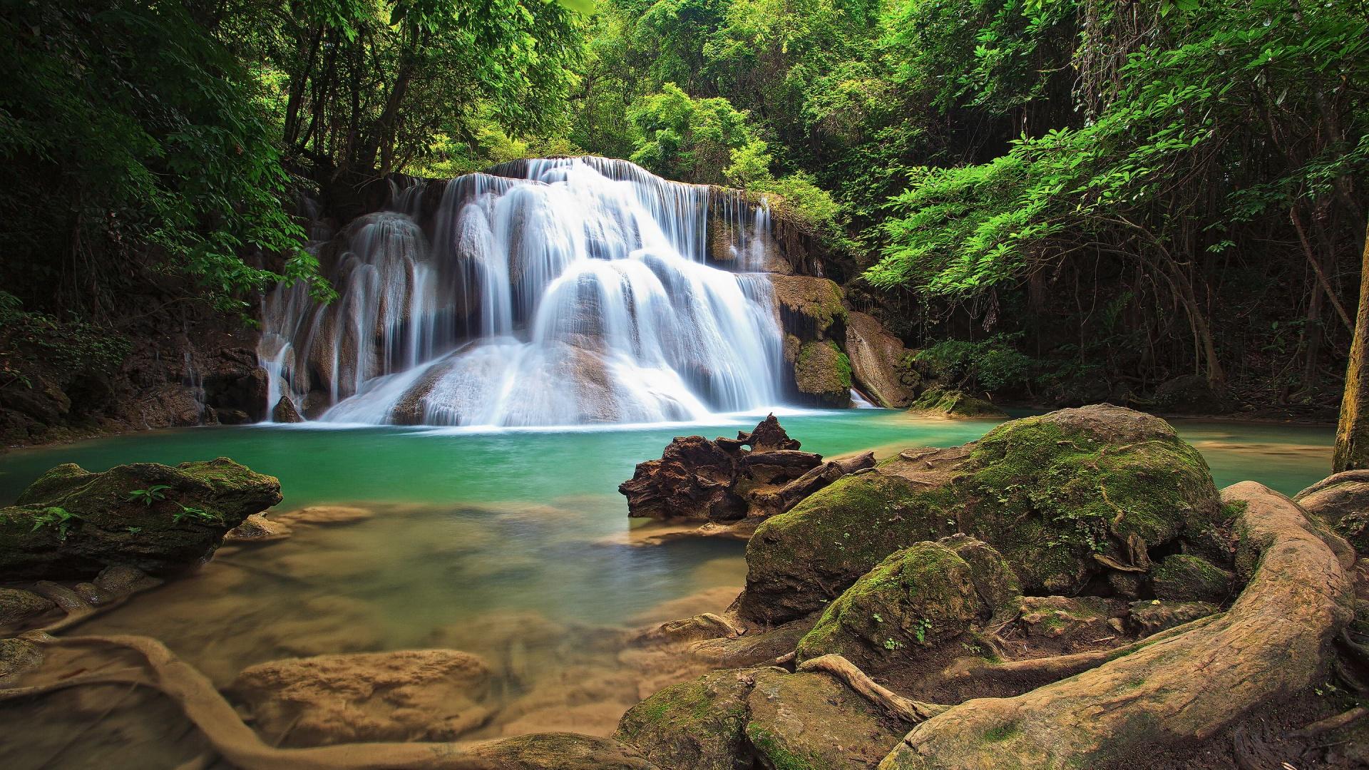 3d Live Waterfall Wallpapers Waterfall Hd 40957 1920x1080 Px Hdwallsource Com