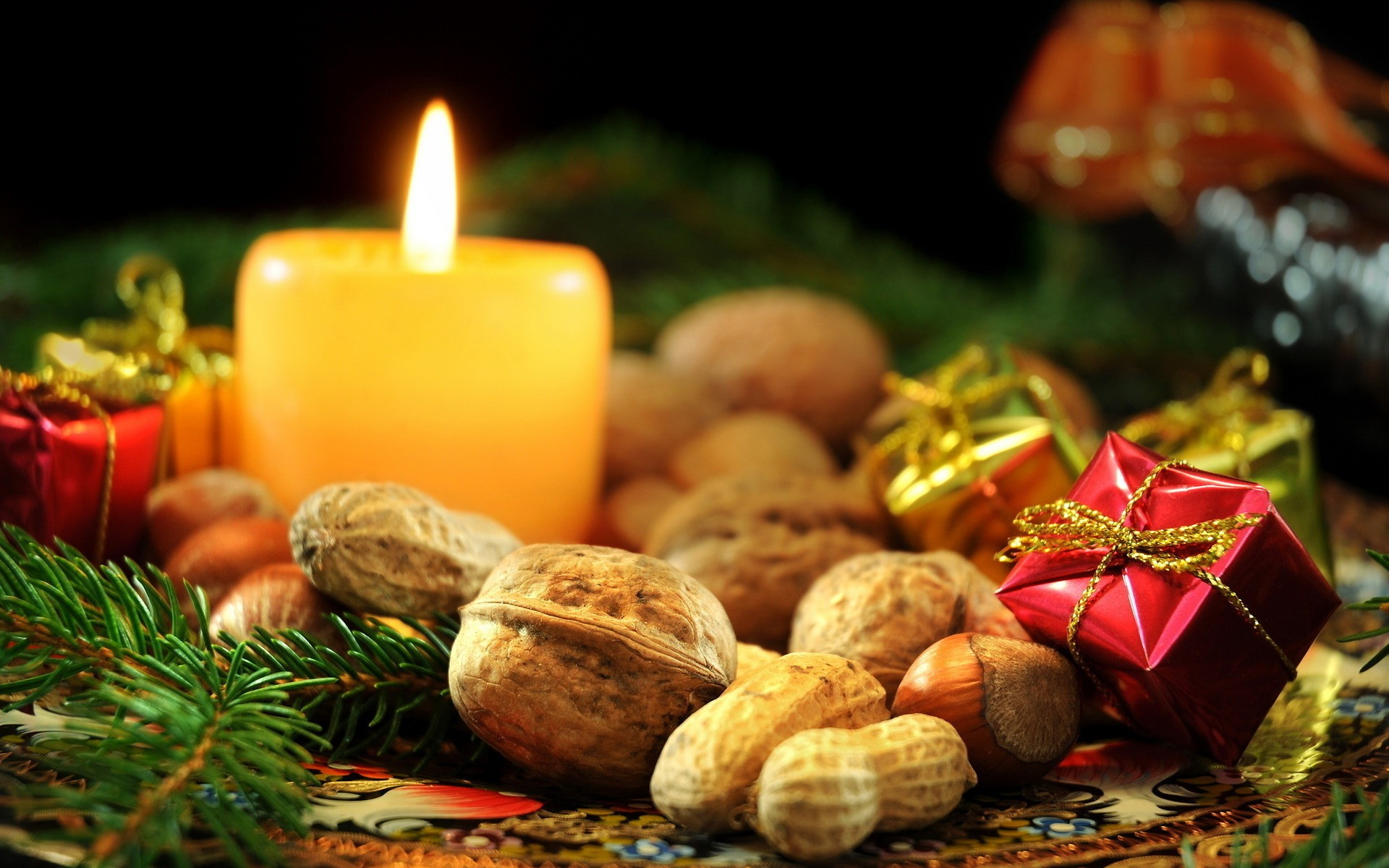 3d Candle Live Wallpaper Christmas Candle Wallpaper 41078 1920x1200px