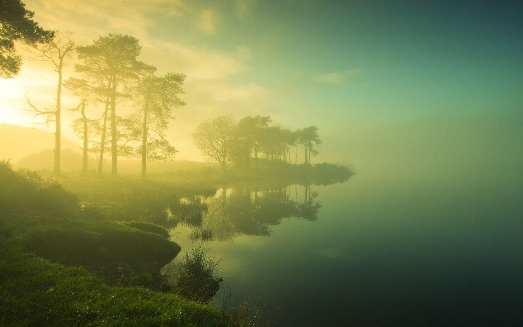 3d Fantasy Nature Wallpaper Mist Background 27420 1680x1050 Px Hdwallsource Com