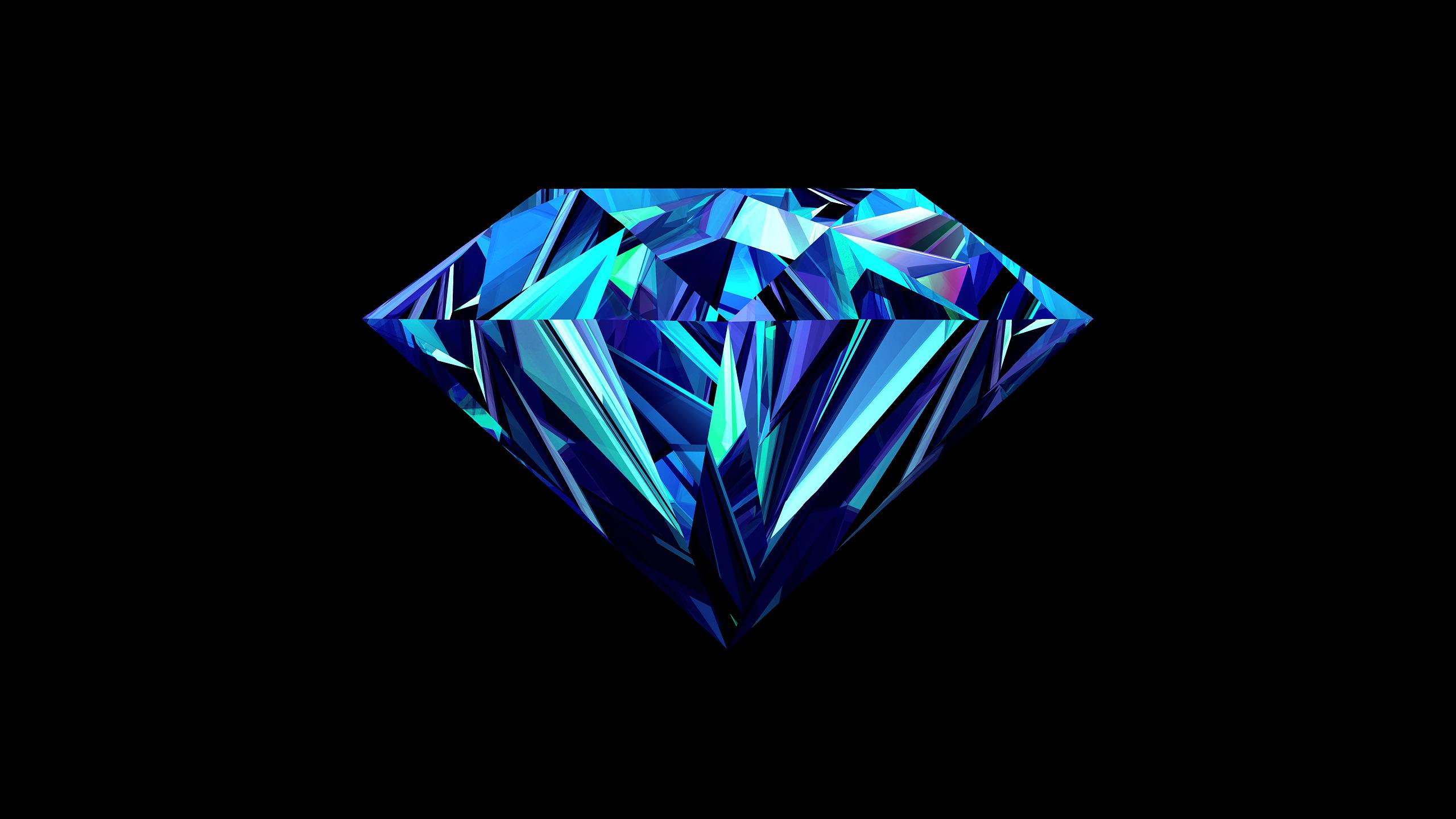 Space 3d Live Wallpaper Diamond Wallpaper Background 48970 2560x1440 Px