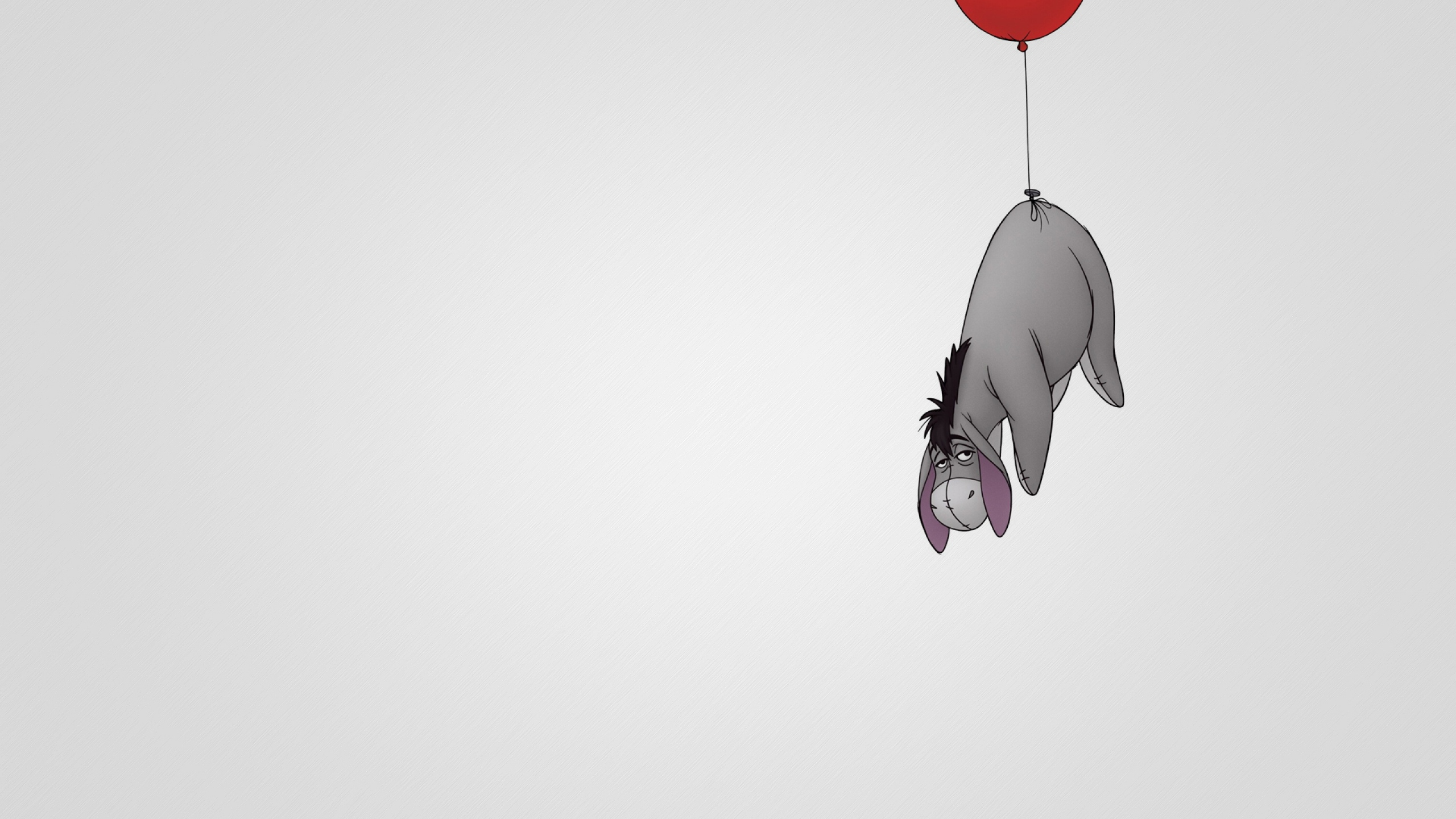 Cute And Funny Quotes Wallpaper Winnie The Pooh Eeyore Wallpaper 51786 2560x1440px