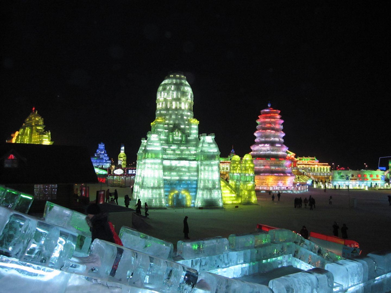 Cute Chinese Cartoon Wallpaper Harbin Ice And Snow Festival 7313 Hdwpro