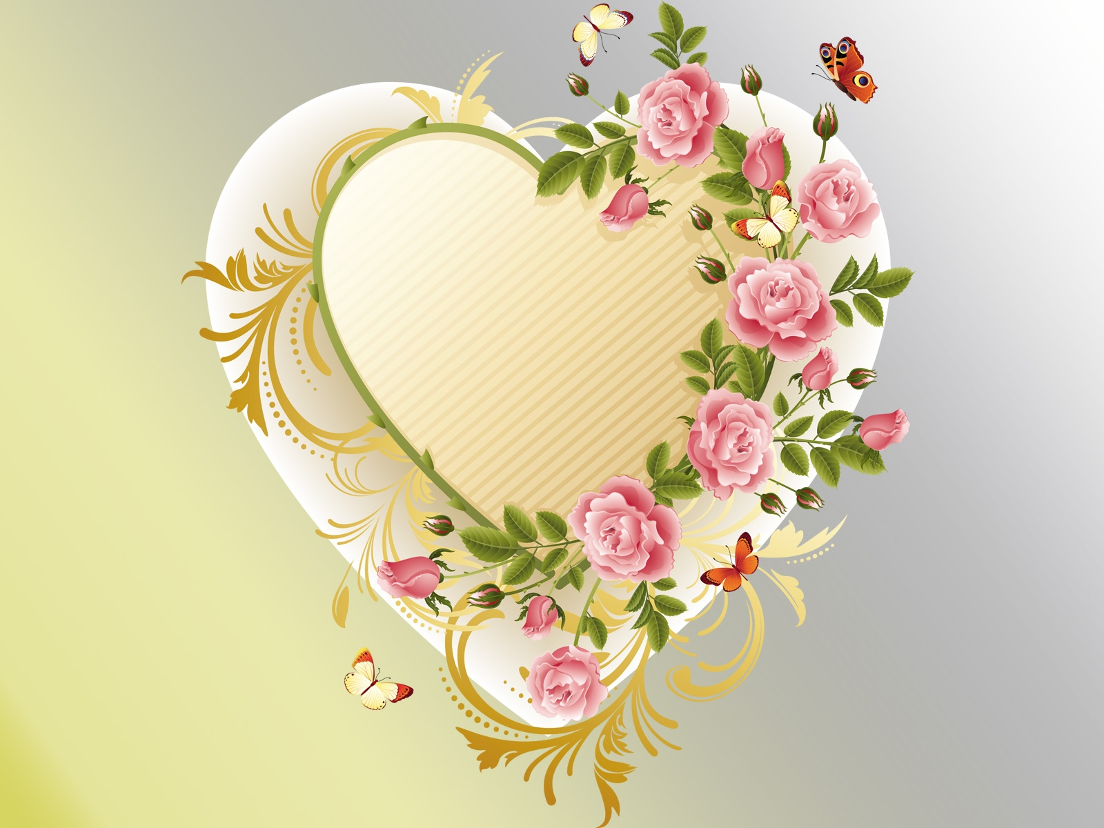 Cute Pink Glitter Wallpapers Awesome Heart Rose 10301 Hdwpro