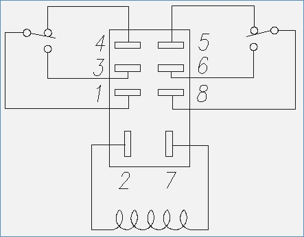 wiring diagram potential relay