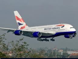 BA A380 mock-up