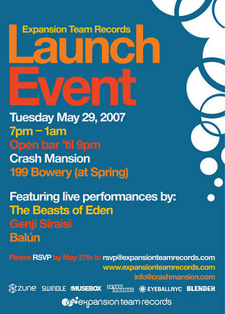 Expansion Team Launch Party