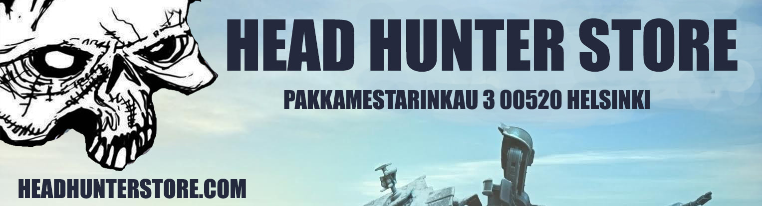 Retail locations Head Hunter Store