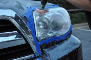 Foam Applicator for Headlight Polish