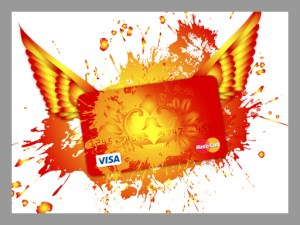 Best credit cards, credit card with wings, flying credit card