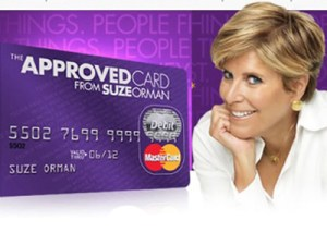 Suze Orman's new prepaid card