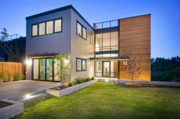 Beautiful house, modern house