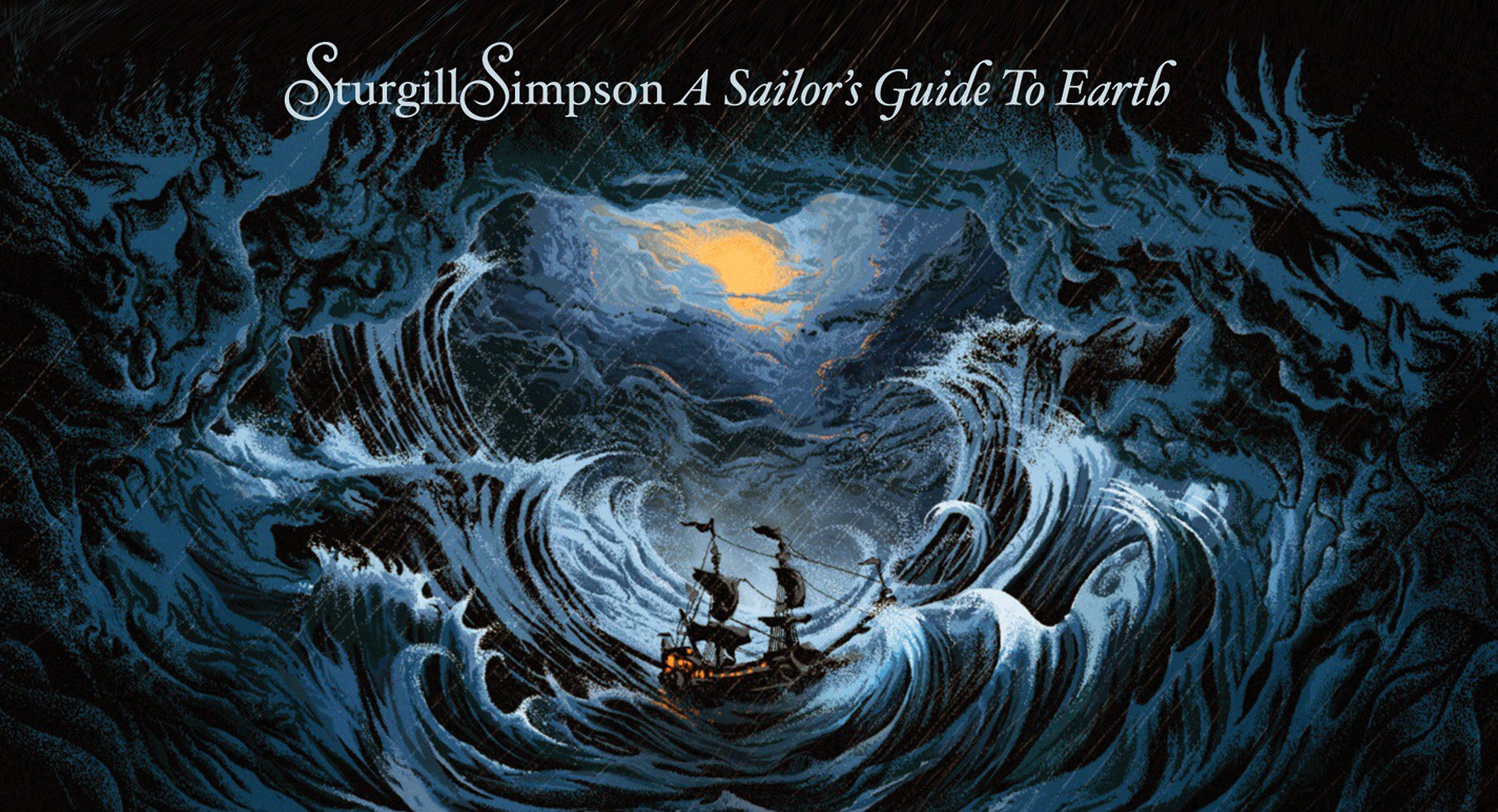 Despacito Wallpaper Hd Sturgill Simpson S Quot A Sailor S Guide To Earth Quot Takes 1 On