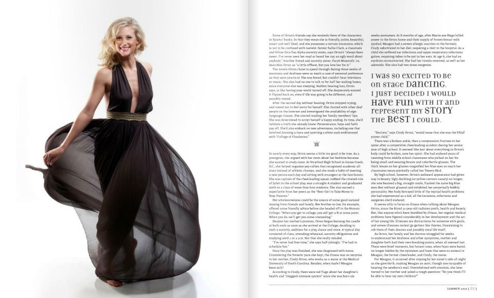 cofc magazine summer 2010 photographed by fashion photographer charleston sc Diana Deaver (2)