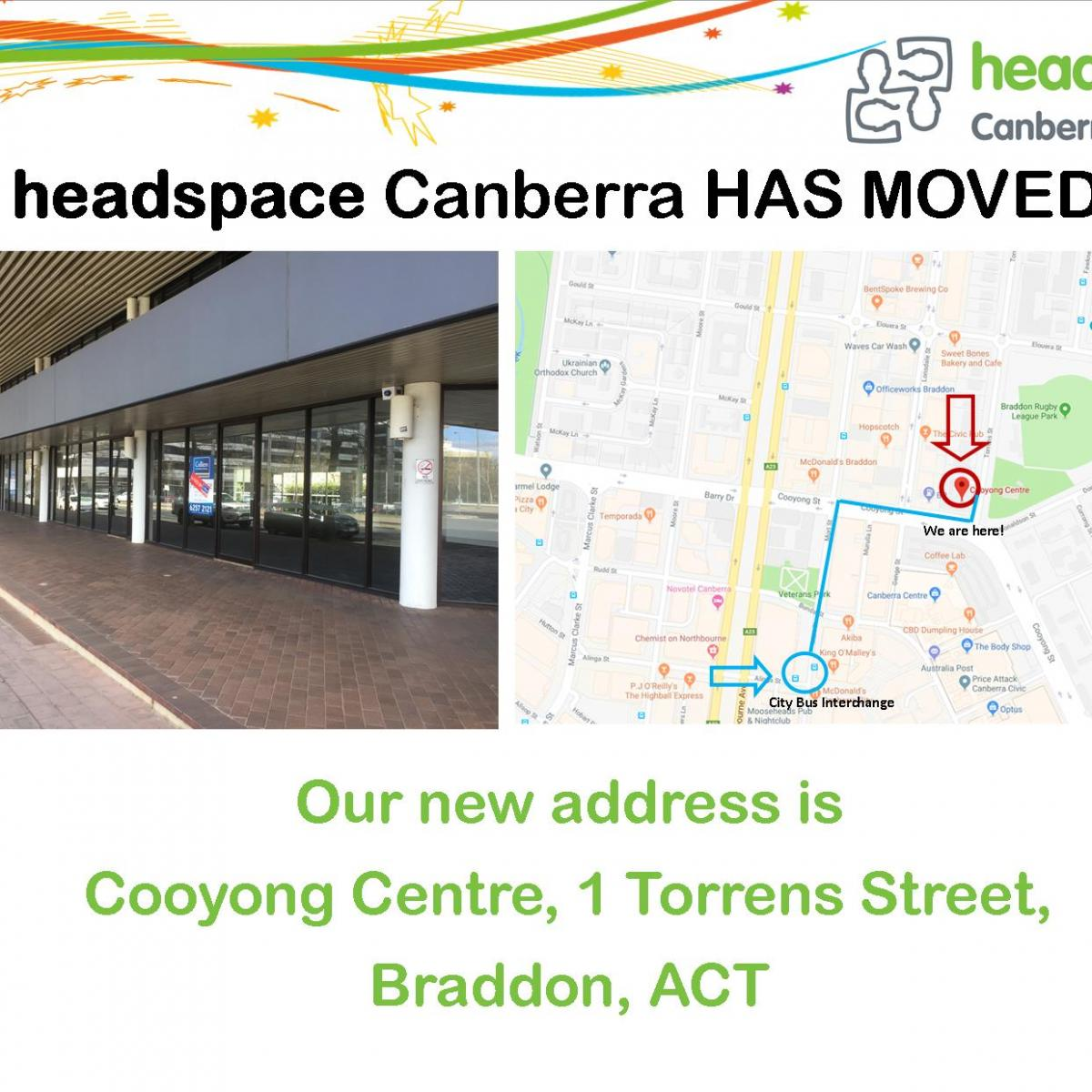 Canberra Centre Parking Headspace Canberra Youth Mental Health Centre Services Headspace