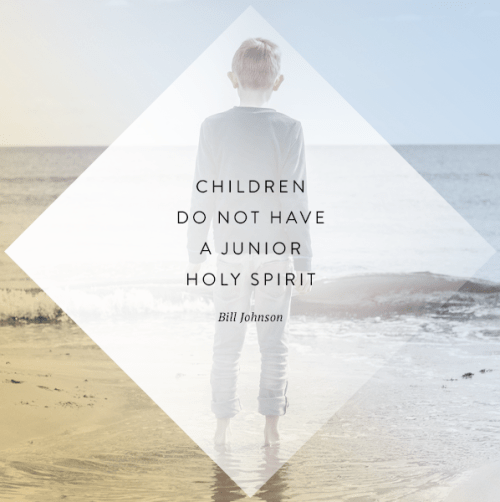 Children Do Not Have a Junior Holy Spirit