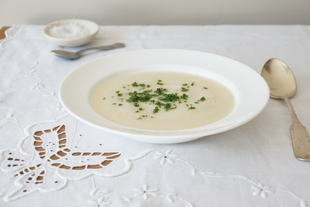 Celeriac and Pear Soup {AIP}