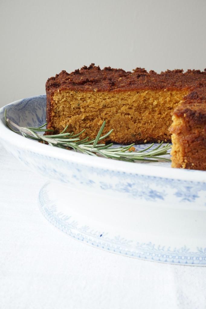 rosemary roasted butternut cake - Healing Family Eats