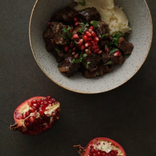 Rich Beef Stew with Pomegranates {AIP, GAPS, SCD, Paleo}