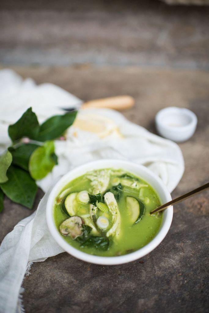 Green Breakfast Soup
