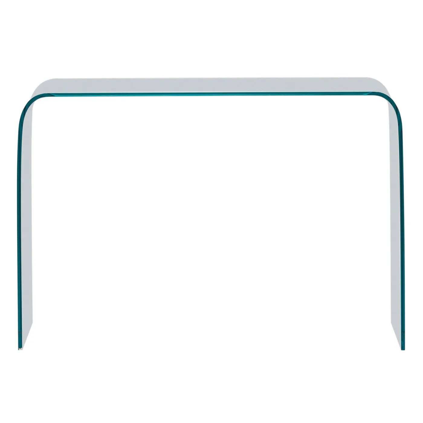 Console Ligne Roset Ligne Roset Pont Console Table Clear Formed Glass 568 00 Port