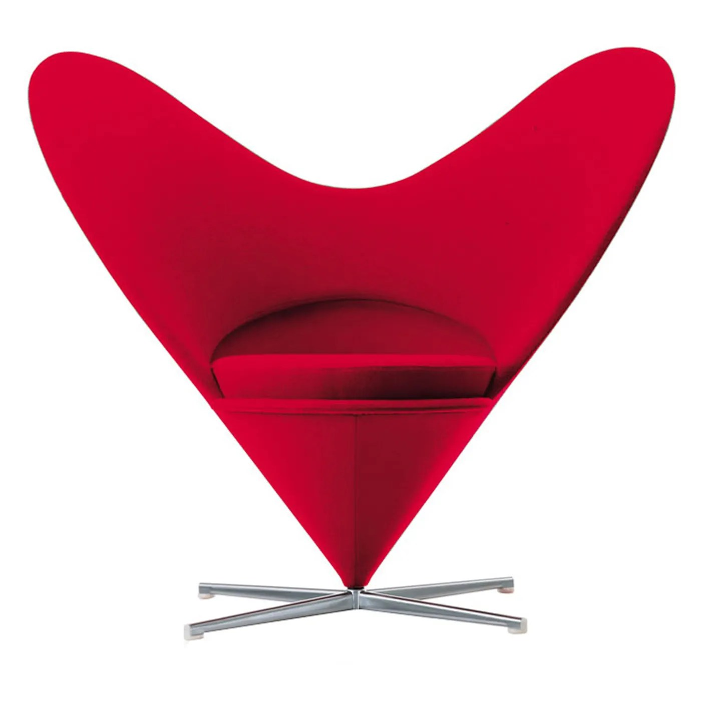Panton Chairs Vitra Heart Cone Chair | Heal's