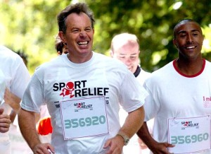 Tony Blair- former Prime Minister of the U.K.