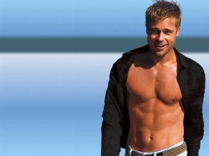 Attractive-Body-Of-Brad-Pitt