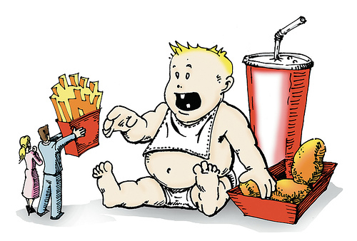fat baby Why is America so Fat???   In Utero Big Macs