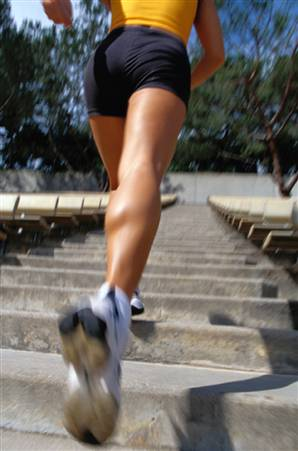 stairs Want To Lower Your Blood Pressure?