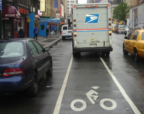 bike lane Obesity = Cancer