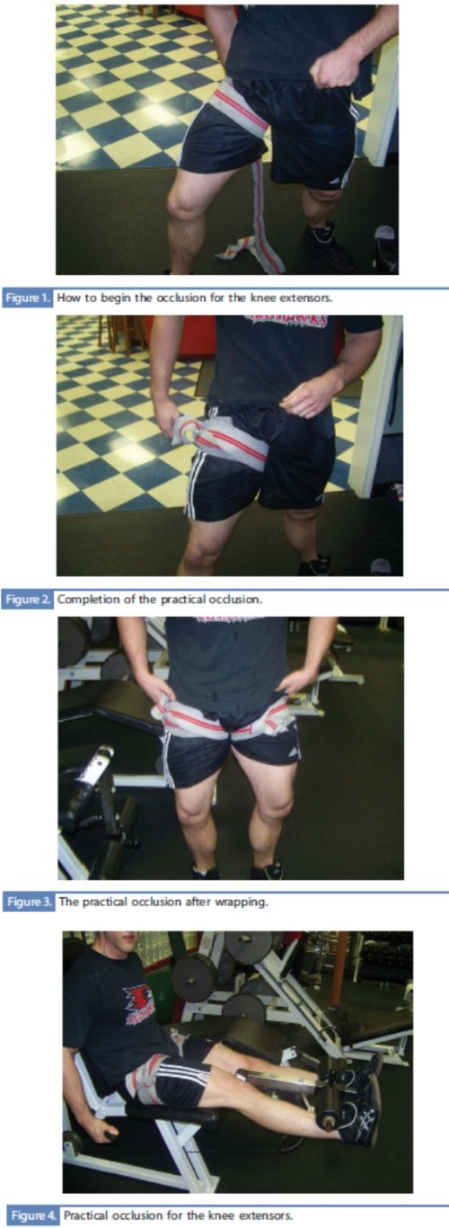occlusion training leg extension Occlusion / Kaatsu Training: The easiest and fastest way to build muscle mass OR health club kink?
