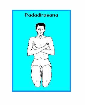 PADADIRASANA