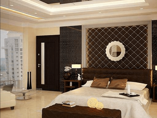 3d Curved Wallpaper Latest Interior Design For Residences