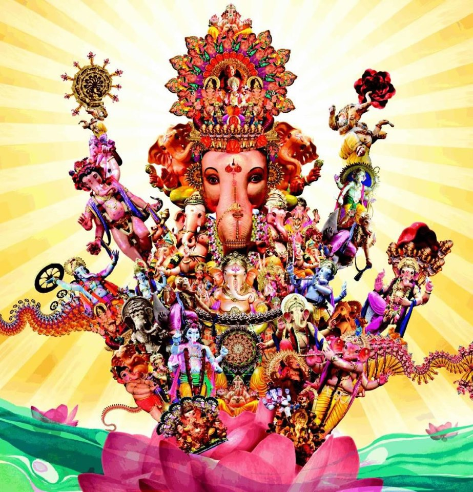 God Mahalakshmi Hd Wallpapers Lord Ganesha In Different Poses And Moods