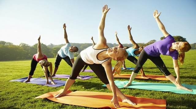 Lose weight with yoga