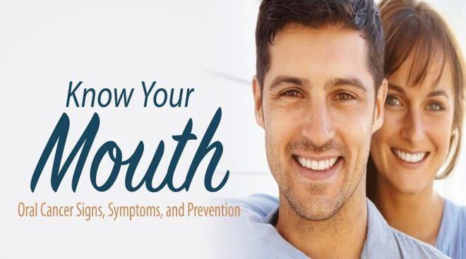 symptoms of oral cancer