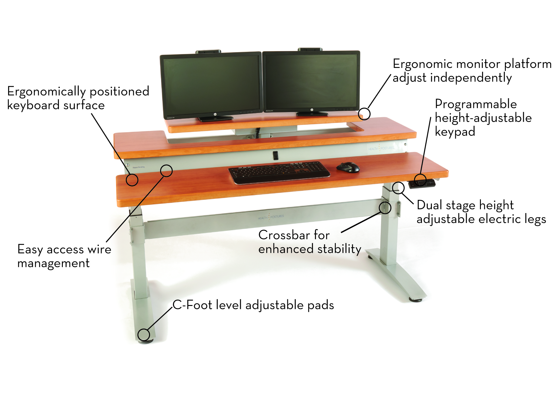 Sit To Stand Desk Height Adjustable Standing Office Desk Sit To Stand Office