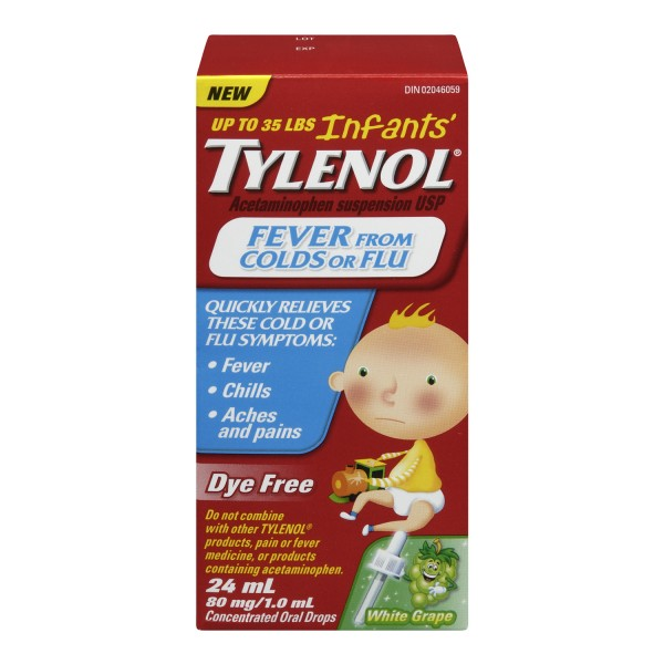 Infant Baby With Cough Buy Tylenol Infants 39; Fever From Colds Or Flu In Canada