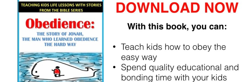 Free children's ebook teaching kids how to obey