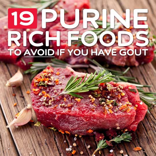 19 High Purine Foods to Avoid if You Have Gout Health Wholeness