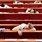 Students Sleeping During A Lecture