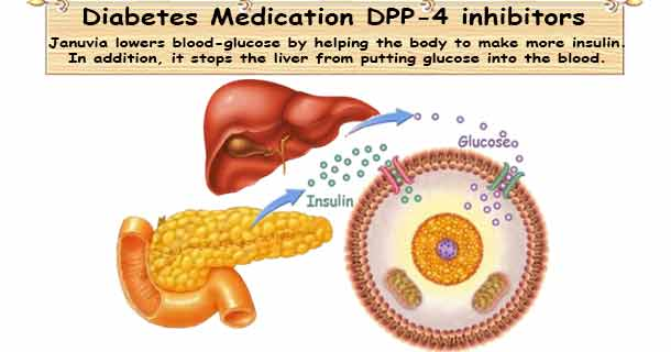 T2D Medicine DPP-4 Inhibitor (Januvia) Healthy-ojas