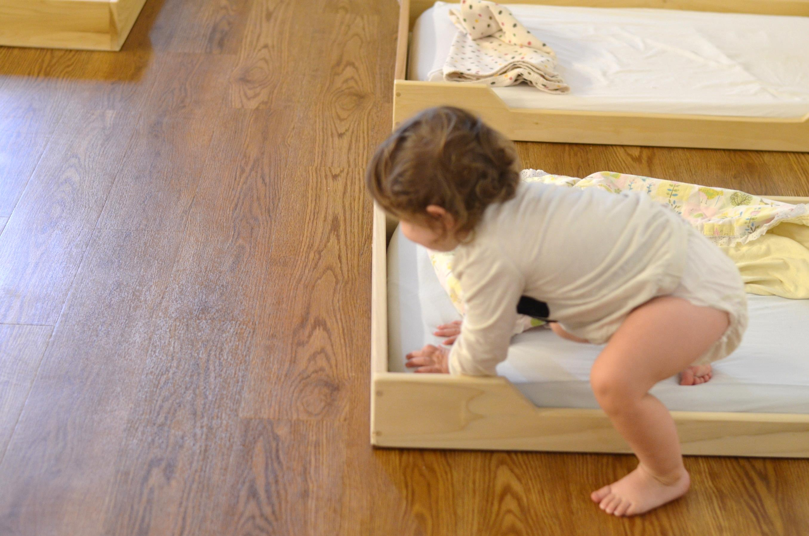 On Floor Beds Whats Up With The Floor Bed Healthy Beginnings Montessori