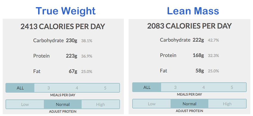 Determining Fat Loss Macros for Obese Individuals - bmi calculation formula