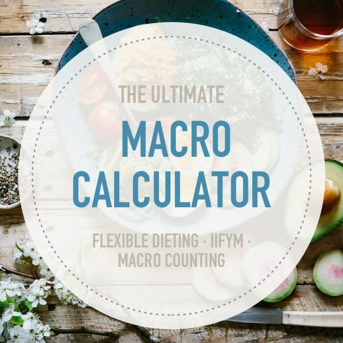 Macro Calculator - how to calculate the percentage of calories from fat