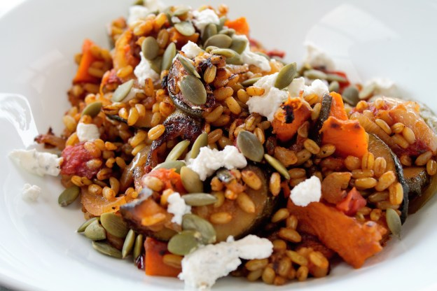 roast-vegetable-freekeh-salad