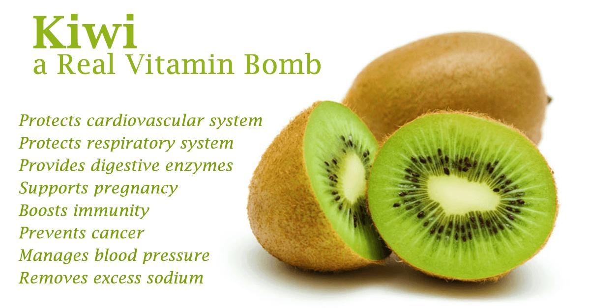 Kiwi vitaminer
