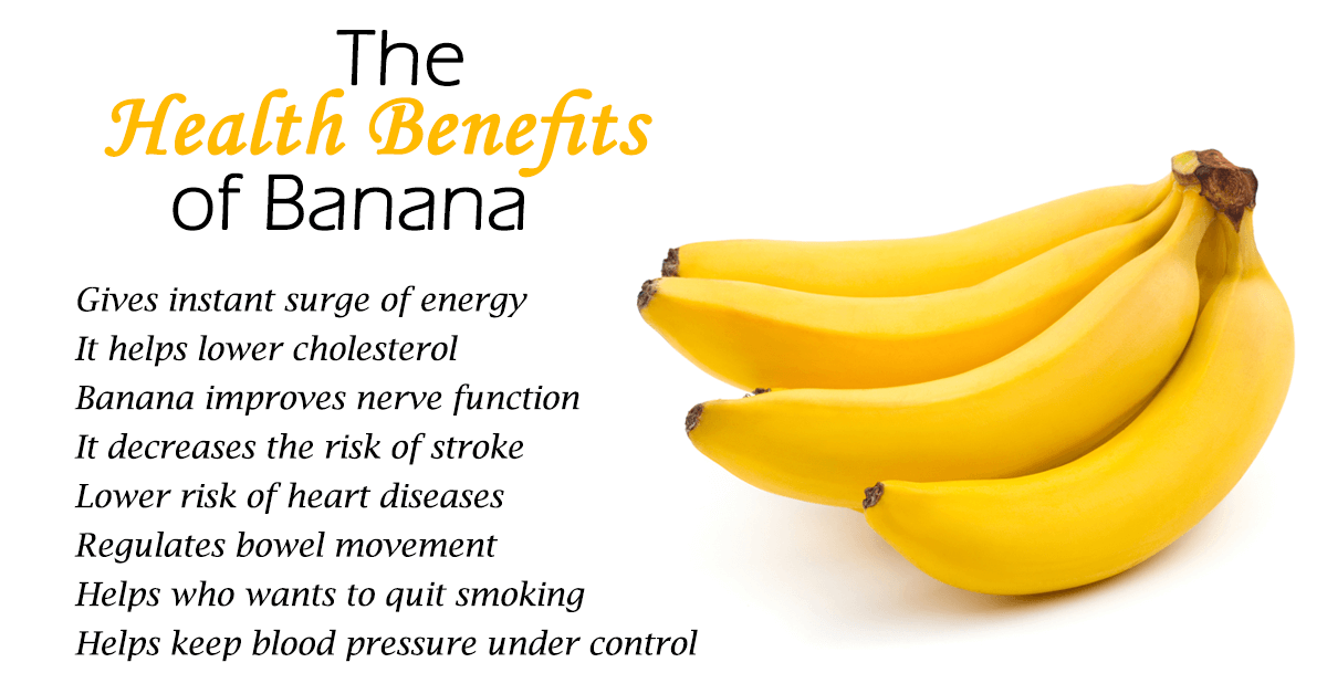 the health benefits of bananas We know bananas are healthy - but exactly how healthy what about their  nutritional content learn all about banana health benefits in our.