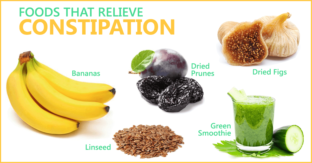 Foods That Help Relieve Constipation Quickly