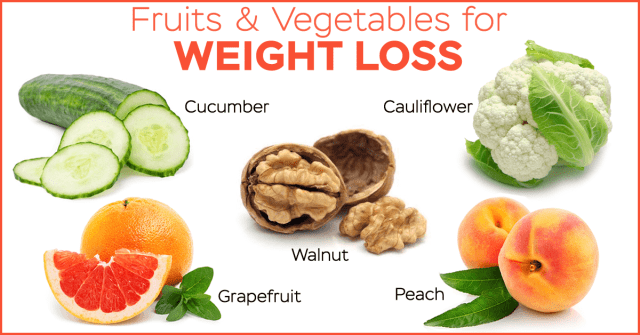 Fruits & Vegetables for Weight Loss